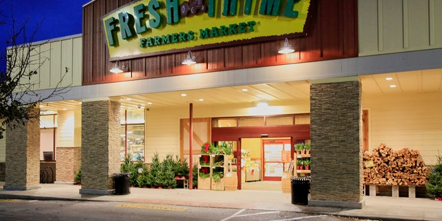A Fresh Thyme store is seen in Omaha, Neb.