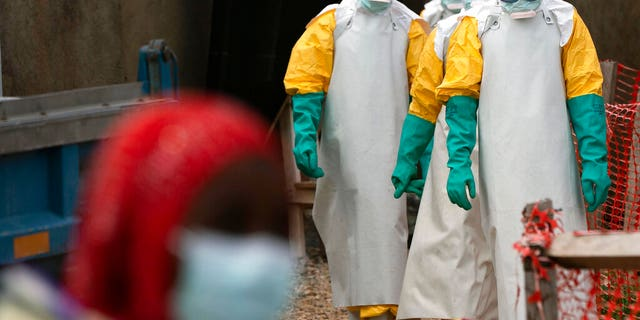 Three killed in Ebola response centre attacks