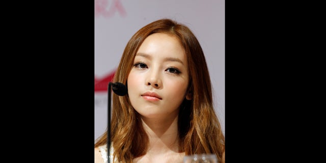 Police said an acquaintance found Goo Hara, seen here in 2012, dead at her home in southern Seoul on Sunday. (AP Photo/Wong Maye-E, File)