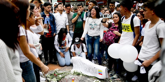 Westlake Legal Group AP19328691768105 Massive Colombia anti-government protests continue amid heightened violent crackdown fox-news/world/world-regions/latin-america fox-news/world/world-regions/americas fox news fnc/world fnc Chris Massaro article 093c7a70-eb4f-5502-8a49-b194c84e30d7