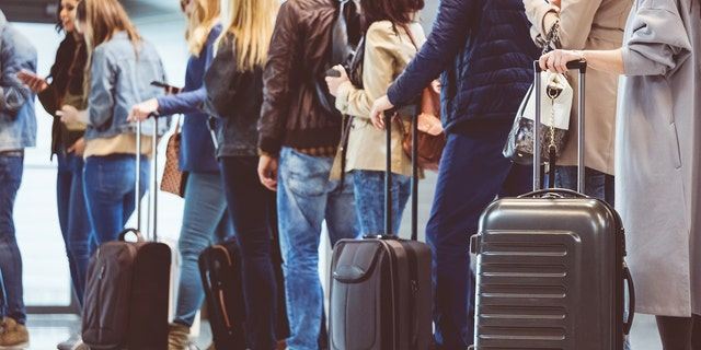 Westlake Legal Group AirportLineIstock2 TSA shares Thanksgiving travel tips, confirms that turkey, stuffing can be stuffed into carry-on bags Michael Bartiromo fox-news/travel/general/travel-tips fox news fnc/travel fnc be2e8e1f-9270-5fa1-8945-b25b234d0510 article