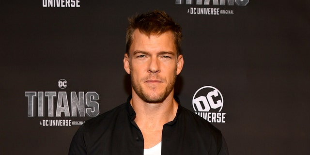 Alan Ritchson attends DC UNIVERSE's Titans World Premiere on October 3, 2018 in New York City.