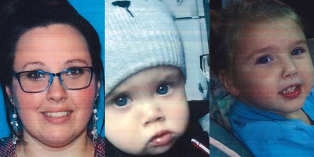 """Alicia Brumbaugh, 31, and her two children -- Maverick Lee Brumbaugh, 1, and Aleah Nicole Rose Brumbaugh, 2 -- were found alive on Tuesday morning after a """"frantic"""" phone call was placed late Monday from a Walmart parking lot in Indiana, Pa."""