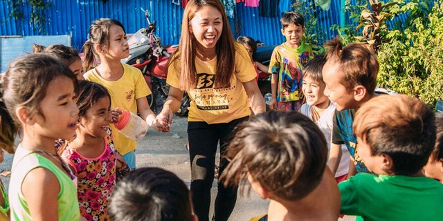 Angelica had her life transformed by Compassion and today, as a teacher, she is helping transform the lives of the next generation in a community that has been completely changed.