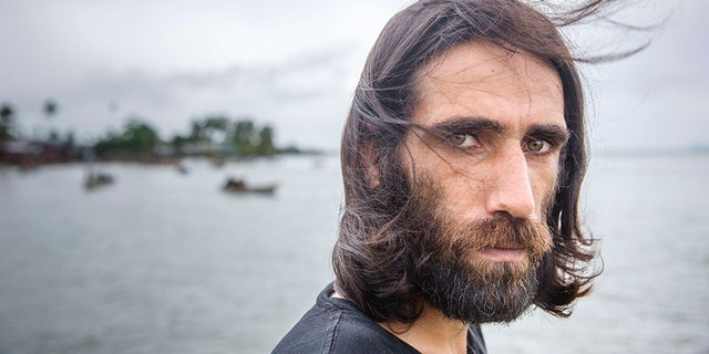 Boochani arrived in New Zealand after spending over half a decade in a detention center on Manus Island. He famously documented the lives of asylum seekers on the island. (Jonas Gratzer/LightRocket via Getty Images) File