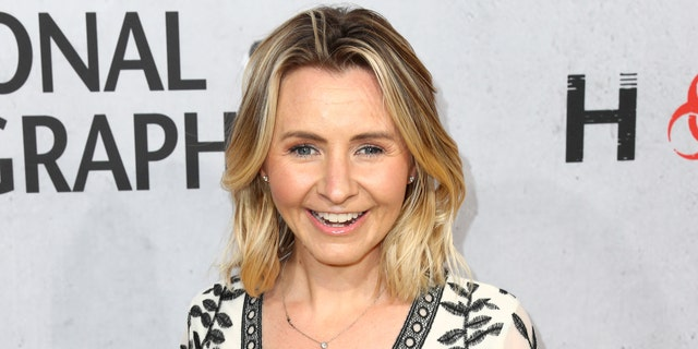 "Beverley Mitchell attends the L.A. premiere of National Geographic's 3-Night Limited Series ""The Hot Zone."""