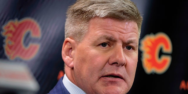 Flames' Bill Peters won't coach vs. Sabres as investigation continues