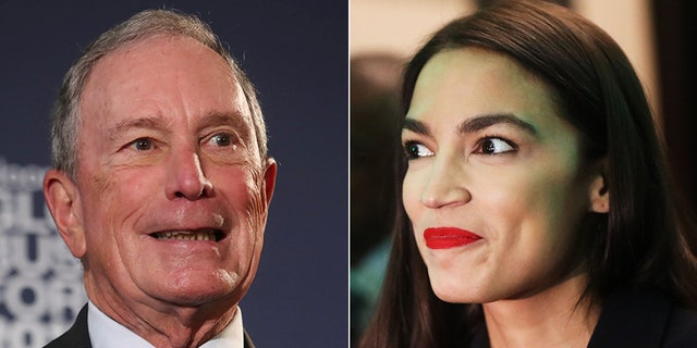 "Democratic presidential candidate Michael Bloomberg's attempt to distance himself from 2015 remarks about the anti-crime policy ""stop and frisk"" didn't win approval from U.S. Rep. Alexandria Ocasio-Cortez, D-N.Y."