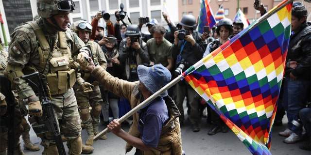 Westlake Legal Group Boliovia-Protests-AP-5 Bolivia's political crisis sparks dangerous clashes, 8 killed fox-news/world/world-regions/latin-america fox-news/world/united-nations/human-rights fox-news/world/united-nations/corruption fox-news/world/united-nations fox-news/world fox-news/us/crime/homicide fnc/world fnc Associated Press article 1c89bb5b-1250-564d-9a34-e305d2b7095b
