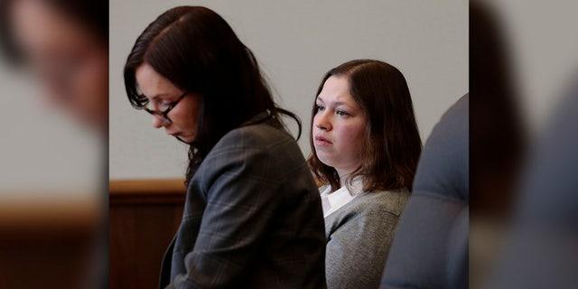 FILE -Tuesday, January 8, 2019 file photo, defendant Brittany Pilkington (Joshua A. Bickel/The Columbus Dispatch via AP, File)