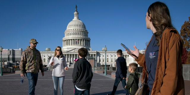 Visitors are allowed to return to the U.S. Capitol Tuesday. (AP Photo/J. Scott Applewhite)