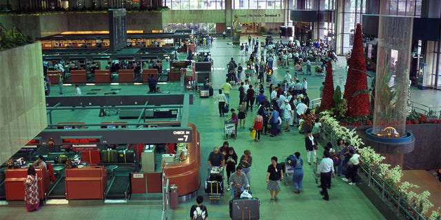Westlake Legal Group Changi-Airport-2-Getty Frustrated baggage handler in Singapore jailed for swapping 286 luggage bag tags fox-news/world/world-regions/asia fox-news/travel/general/airlines fox-news/travel fox news fnc/world fnc David Aaro article 1a091e40-b05d-5b37-b356-5105938d592e