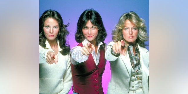 From left: Jaclyn Smith, Kate Jackson and Farrah Fawcett as undercover detectives Kelly Garrett, Sabrina Duncan and Jill Munroe. (Photo by Walt Disney Television via Getty Images Photo Archives/Walt Disney Television via Getty Images)
