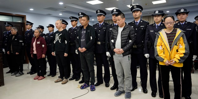 The court sentenced nine fentanyl traffickers Thursday in a case that was a culmination of a rare collaboration between Chinese and U.S. law enforcement to crack down on global networks that manufacture and distribute lethal synthetic opioids.