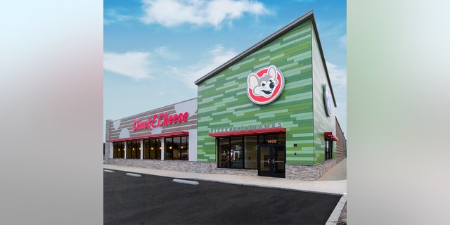 """Chuck E. Cheese locations are also getting new logos and new color schemes, in addition to moving away from tokens toward an """"All You Can Play"""" model,"""