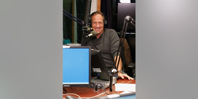 Mike Rowe visits 'The Opie & Anthony Show' at the SiriusXM Studio on September 18, 2012, in New York City.