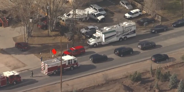"""The body of an adult male was found """"encased"""" in concrete in the basement of a Colorado apartment on Friday."""