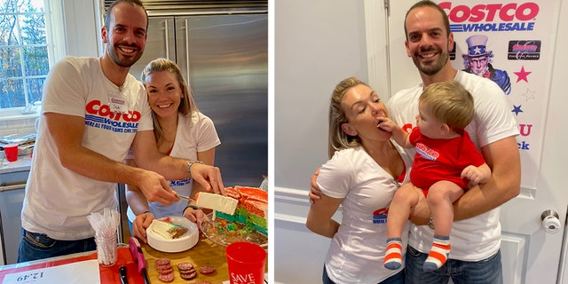 A Massachusetts family's Costco-themed party for their son's first birthday has gone viral. (Photo: Courtesy of Josie Gonzalez)