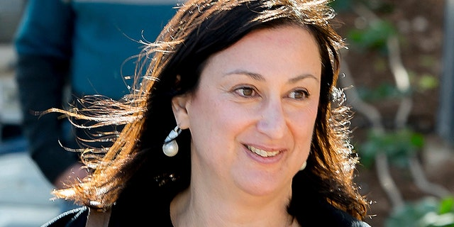 Maltese authorities said a man arrested in a money-laundering case claims to have information identifying the mastermind behind the assassination of Caruana Galizia. (AP Photo/Jon Borg, File)
