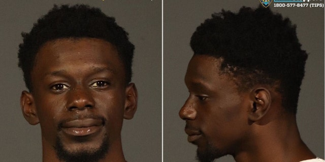 Darnell Hilliard, 21, was arrested in connection with the water-dousing incident over the summer in Harlem, officials said Monday.