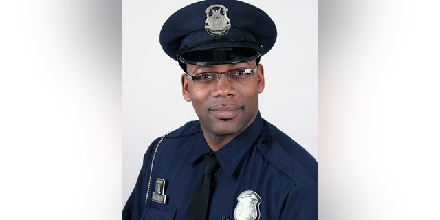 Detroit Police Officer Rasheen McClain.