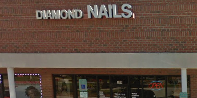 Diamond NAILS refused to comment on the incident, according to WBTV. (Photo: Google Maps)