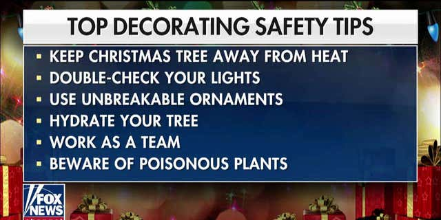 Dr. Manny Alvarez's holiday decorating safety tips for 2019