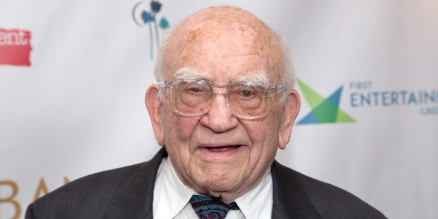Ed Asner arrives for the 11th Annual Burbank International Film Festival Opening Night at AMC Burbank 16 on September 04, 2019 in Burbank, California. (Photo by Gabriel Olsen/Getty Images)