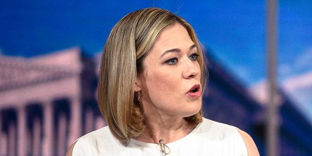 MSNBC political analyst Elise Jordan. (Photo by: William B. Plowman/NBC/NBC Newswire/NBCUniversal via Getty Images)