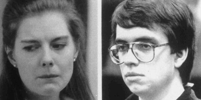 Combo picture, released June 25, 1990, of Elizabeth Haysom, left, and Jens Soering, who have been arrested for the murder of Elizabeth's parents at their home in Bedord County, Va. Image of Haysom is 1987 filer, and Soering is 1990 filer.
