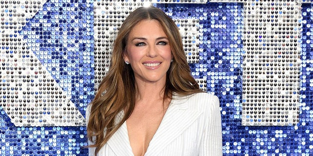 Elizabeth Hurley is known for modeling her swimsuit pieces on Instagram.