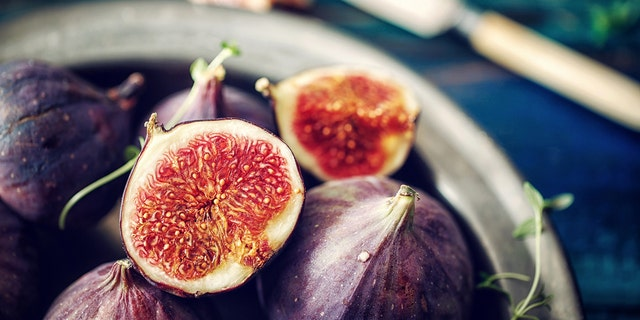 Depending on where your figs come from, they might be pollinated by fig wasps, some of which may die inside the fig.