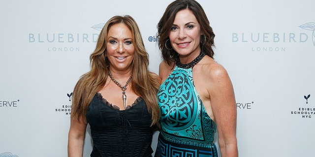 Barbara Kavovit and Luann de Lesseps attend the Bluebird London New York City launch party at Bluebird London on September 5, 2018 in New York City. Kavovit recently announced interest in running for mayor of New York City in 2021.