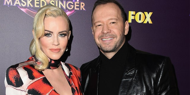"Jenny McCarthy and Donnie Wahlberg attend Fox's ""The Masked Singer"" Premiere Karaoke Event last year. (Photo by Jon Kopaloff/Getty Images,)"