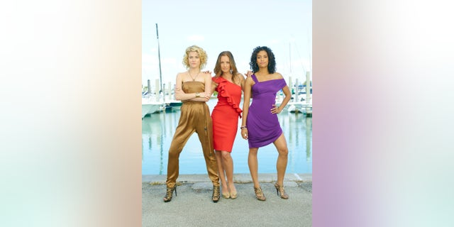 """Rachael Taylor as Abby Sampson, Minka Kelly as Eve French, Annie Ilonzeh as Kate Prince in """"Charlie's Angels."""" (Photo by Bob D'Amico/Walt Disney Television via Getty Images)"""