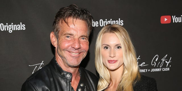 Dennis Quaid and Laura Savoie attended Cash Fest in November.