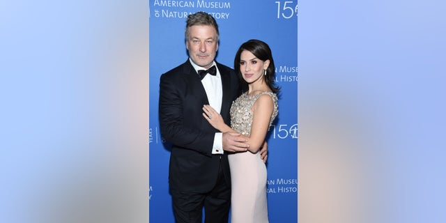 Alec Baldwin and Hilaria Baldwin attended the American Museum of Natural History 2019 Gala in New York City. (Photo by Jamie McCarthy/Getty Images)