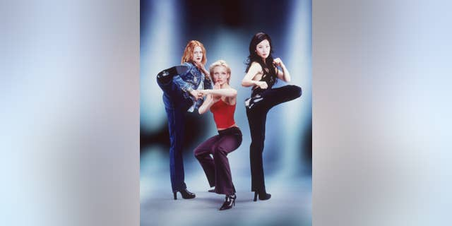 From left: Drew Barrymore (Dylan Sanders), Cameron Diaz (Natalie Cook) and Lucy Liu (Alex Munday). (Photo by Columbia Pictures/Newsmakers)