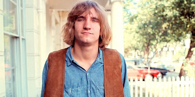 Joe Walsh of the James Gang and later The Eagles, portrait, London, 20th October 1970.
