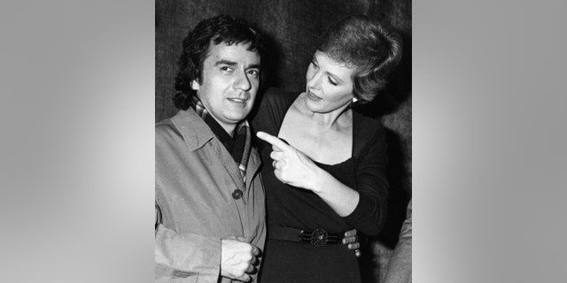 Actor Dudley Moore, left, and actress Julie Andrews attend Because We Care Benefit for Cambodia on January 29, 1980.