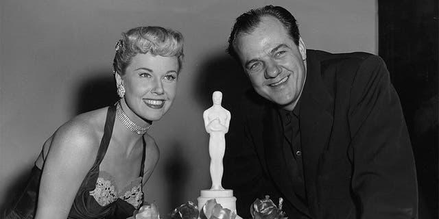 Karl Malden and Doris Day.