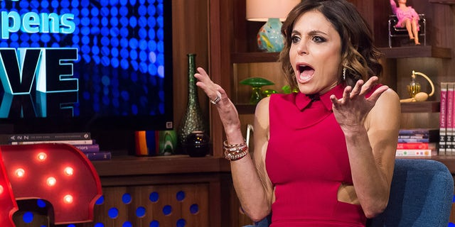 Bethenny Frankel appears on 'Watch What Happens Live with Andy Cohen.' (NBCU Photo Bank/NBCUniversal via Getty Images)