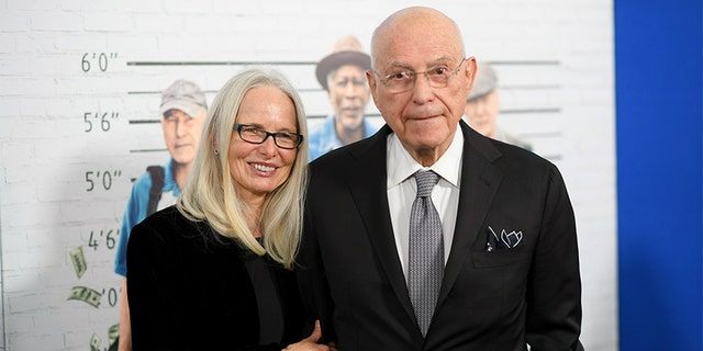 """Actors Suzanne Newlander Arkin and Alan Arkin attend the """"Going In Style"""" New York Premiere at SVA Theatre on March 30, 2017, in New York City."""
