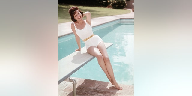 Photo of Annette Funicello.