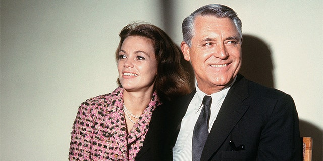 Cary Grant and Dyan Cannon at the Savoy Hotel in London, in 1966.