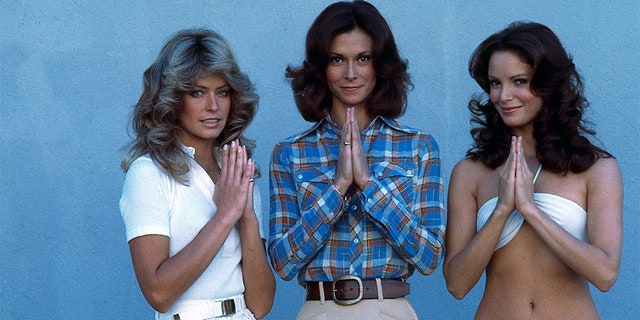 "The stars of ""Charlie's Angels"" (left to right) — Farrah Fawcett, Kate Jackson and Jaclyn Smith."