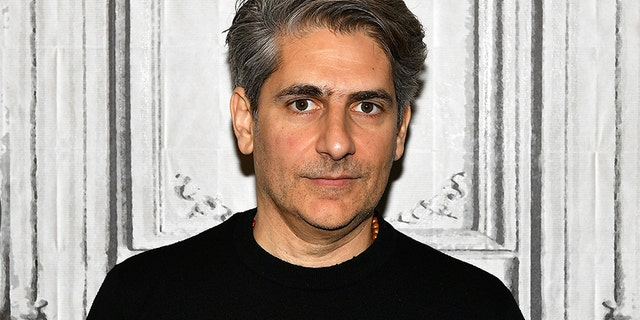 """Actor and author Michael Imperioli visits Build Series to discuss his book """"The Perfume Burned His Eyes"""" and TV series """"Alex, Inc."""" at Build Studio on March 29, 2018, in New York City."""