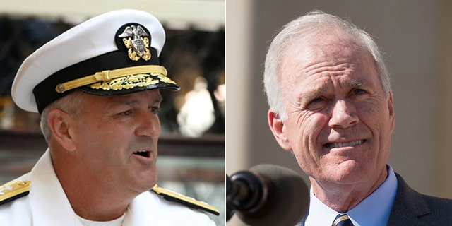 Westlake Legal Group Green-Spencer-US-NAVY-REUTERS Navy Secretary threatened to resign over Trump's request, but not top SEAL commander: officials Morgan Phillips Lucas Tomlinson fox-news/us/military/navy fox-news/us/military/military-trials fox-news/politics/defense/pentagon fox-news/person/donald-trump fox news fnc/us fnc article 8a59ca8c-d0d6-5e8f-8460-5aae4c7b828c