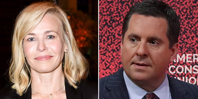 "Comedian Chelsea Handler, left, tweeted that she hopes Rep. Devin Nunes ""gets hit by a lime scooter"" after the politician slammed Democrats for their Trump Impeachment Inquiry."