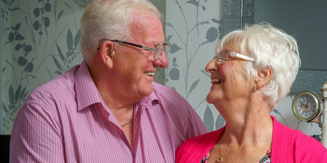 The inseparable couple still enjoys road trips, meals out and say their marital bliss can be attributed to their shared sense of humor. (Photo: SWNS)